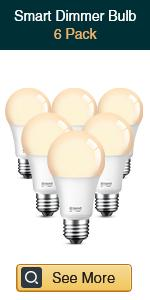 Gosund smart dimmable bulb 6 pack