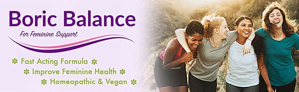 main banner - feminine health