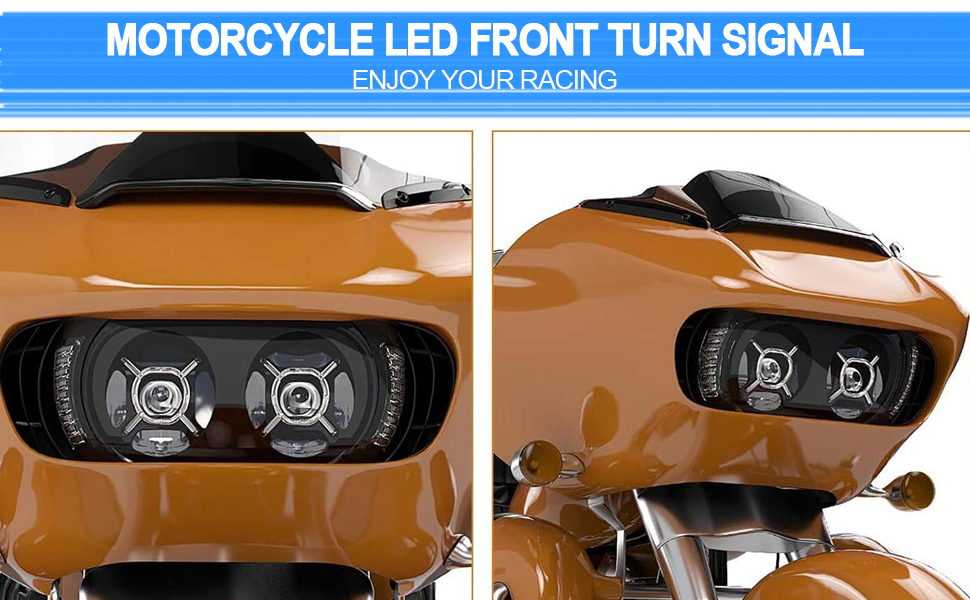 Driving Front Lights fit for Harley