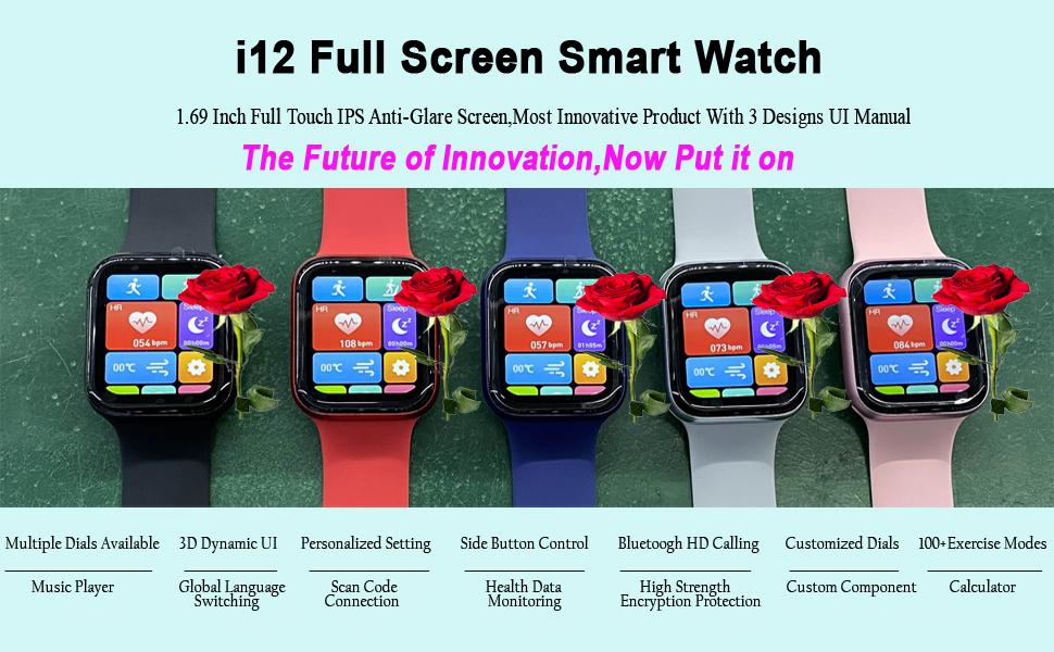 Full Screen Smart Watch
