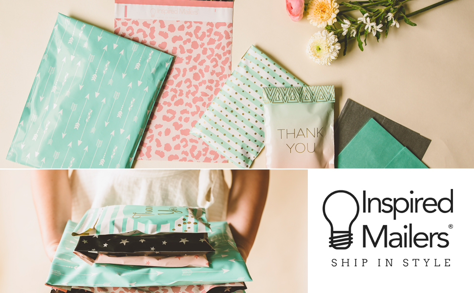 Inspired Mailers premium quality mailers