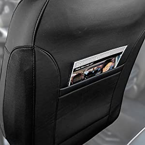 3D Seat Cover Convenient Storage Back Pocket