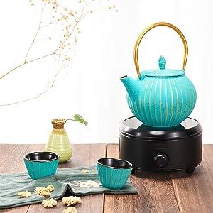 rustic tea kettle