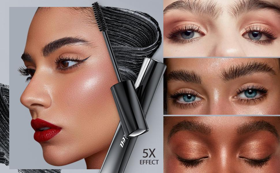4D silk Fiber Lash Mascara Black