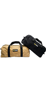 MELOTOUGH Waxed Canvas Utility Tool Tote bag Combo Kit