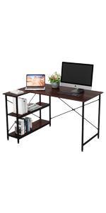 small l shaped computer desk
