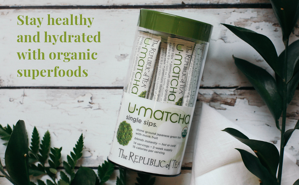 U-Matcha Single Sip Green Tea