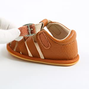 Infant Baby Girls Boys Sandals Rubber Soft Sole Premium Toddler Walker Outdoor Summer Beach Shoes