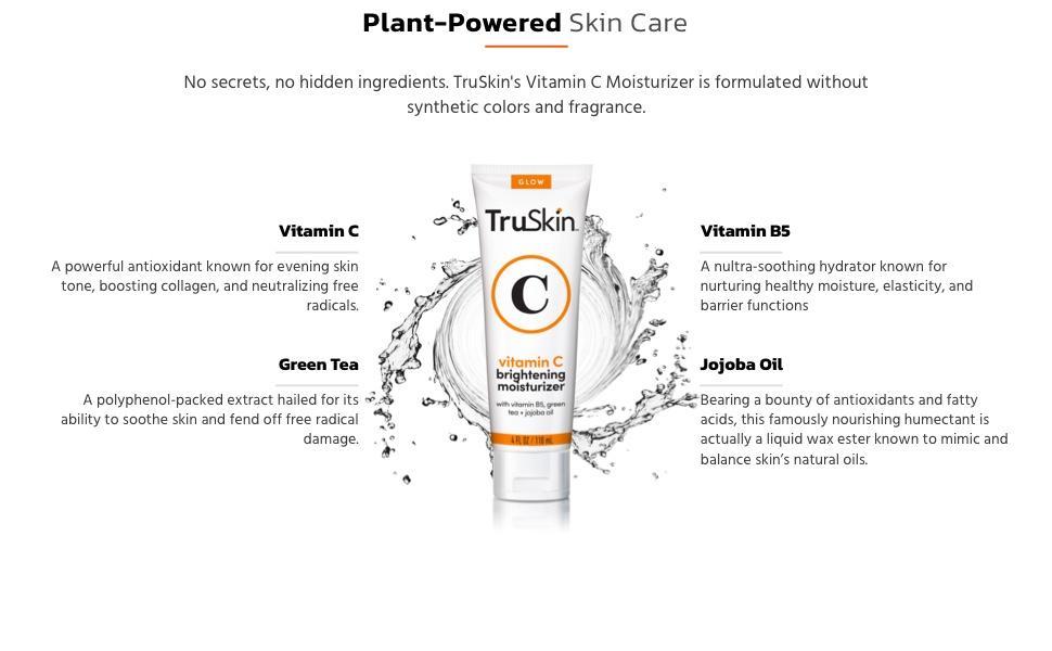 TruSkin Vitamin C Brightening Moisturizer Ingredients