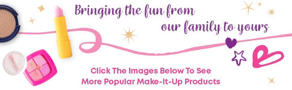 Pretend Makeup and Real Makeup Fun