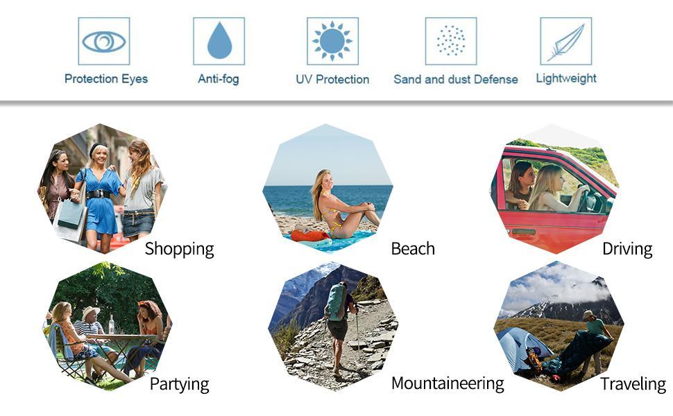 True-Ally Full glass UV Face shield