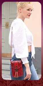 women crossbody cellphone bag