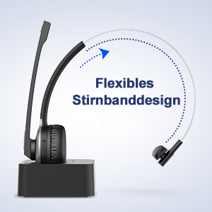 Drahtloses Headset Wireless Headset Kabellose Kopfhörer