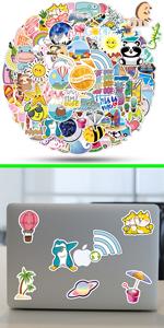ViKiVi Cute Stickers 110 Pcs