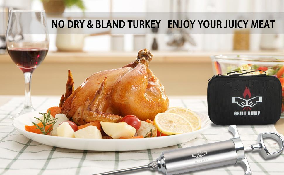 sauce marinade makes turkey taste more delicious
