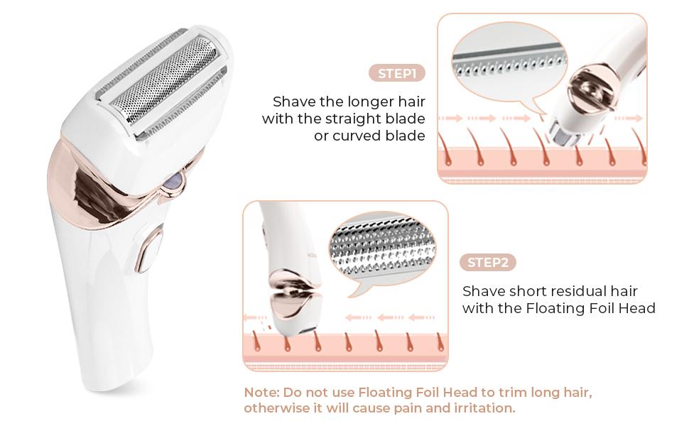 electric leg shaver for women hair shaver for women intimate shaver for women