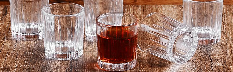 cool shot glasses/soju glass/unque shot glasses/shot glasses set/mezcal/cocktail glasses/sake glass