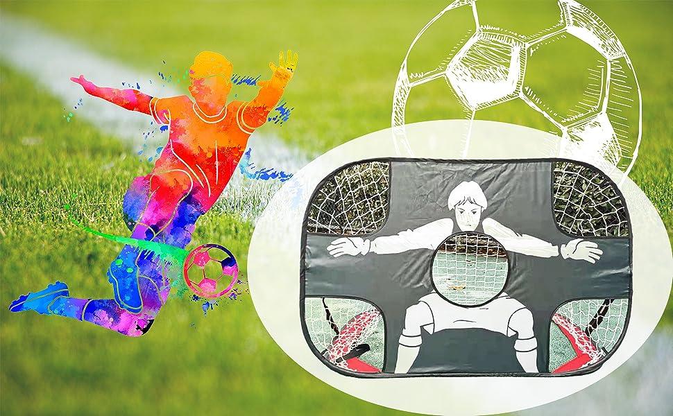 portable football training frame