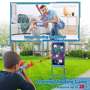 shooting game toy