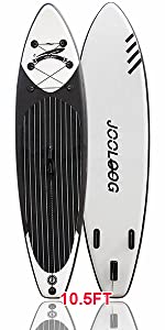 Inflatable Stand Up Paddle Board Black