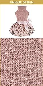Leopard Dog Dress B09F3GHX9M