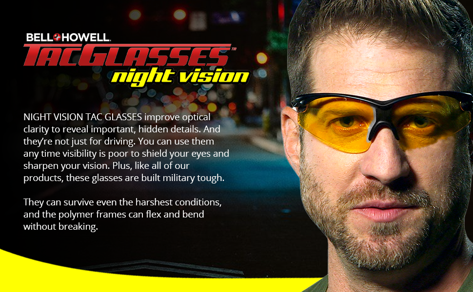 tacglasses night vision feature