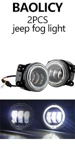 BAOLICY JEEP Fog Lights 2PCS