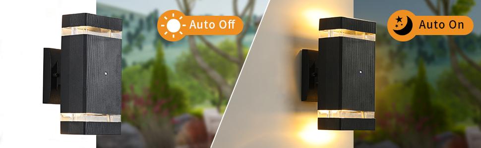 Dusk to Dawn Outdoor Wall Light-02