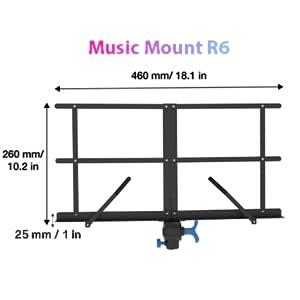 Sheet Music Mount