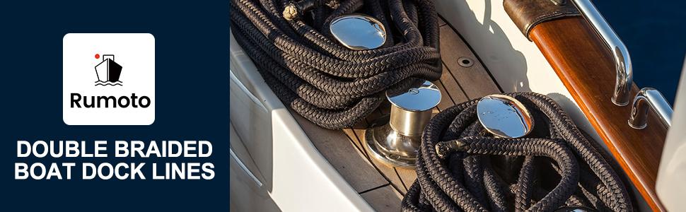 boat docking lines