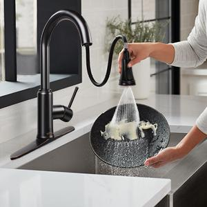 Soosi Oil Rubbed Bronze kitchen faucet touchless