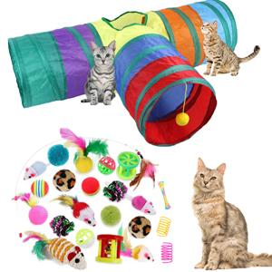 Cat Toys Kitten Interactive Pet Toys Assortments