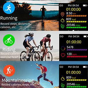 Fitness and Activity Tracker Watch
