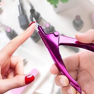 Acrylic Nail Cutter Fake Nail Trimmer