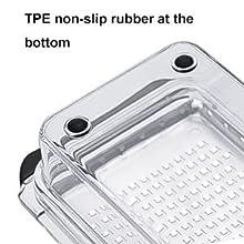 TPE non-slip  provide more assistance to zester