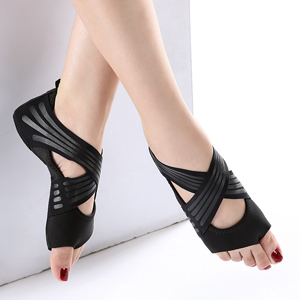 black yoga socks