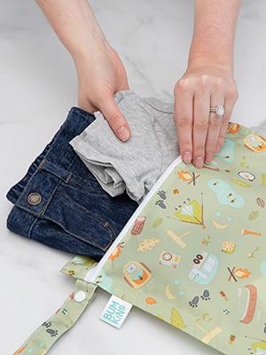 fabric wet bag