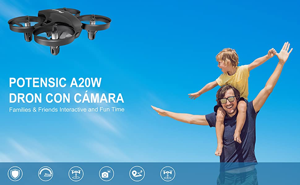 Potensic Mini Drone con Cámara