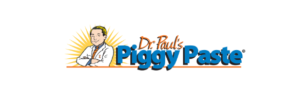 Dr. Paul's Piggy Paste Logo