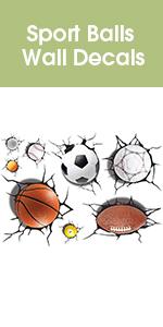 Sport Balls Wall Decals