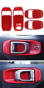 Door Handle Bowl Cover Trim for Jeep Wrangler JL JLU amp;amp;amp; Gladiator JT