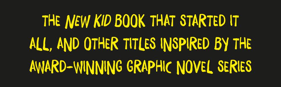 New Kid, award winning graphic novel