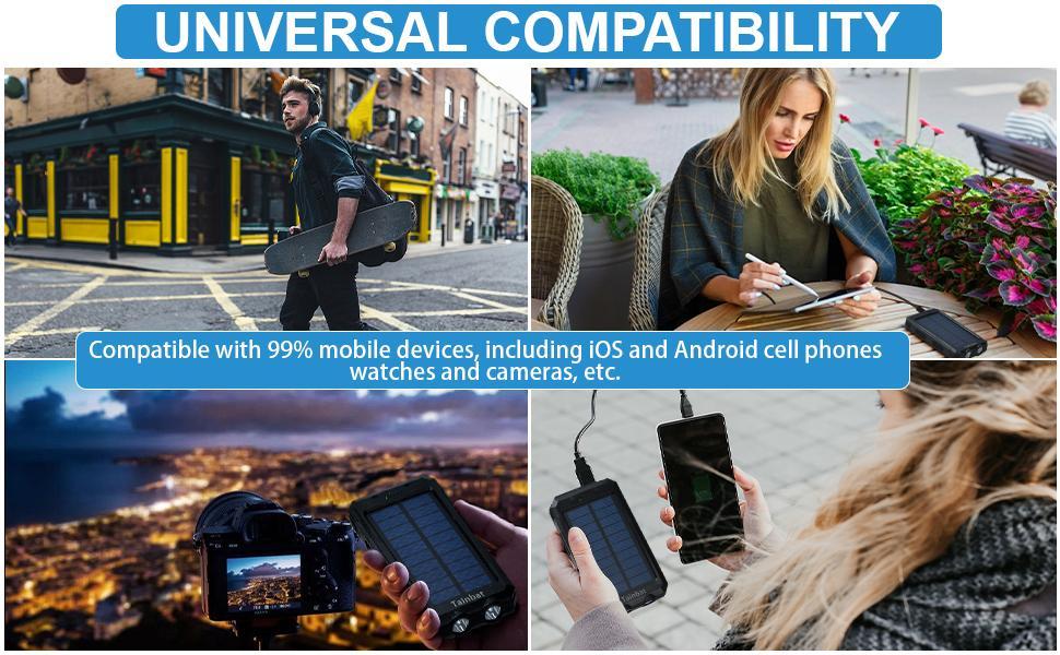 patriot solar power cell charger android battery bank pack cargador solar portatil para celulares