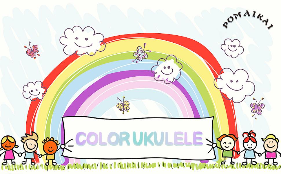 colors ukulele