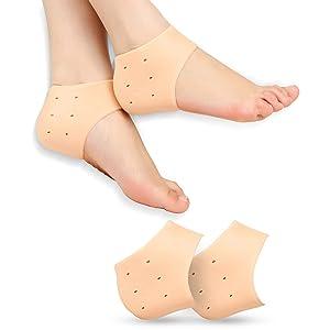 heel socks
