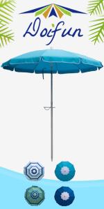 6.5ft Beach Umbrella