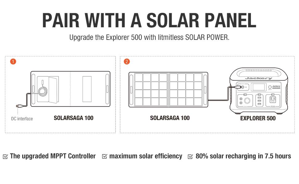 Solar Generator 500