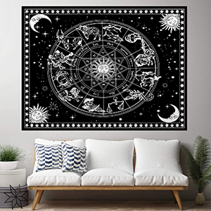 12 Constellation Tapestry for Office