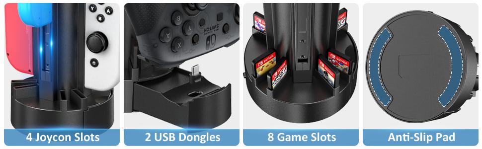 Joycon controller charger