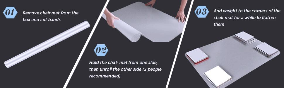 chair mat usage
